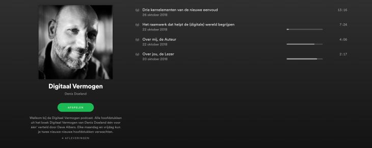 Digitaal Vermogen Denis Doeland op Spotify