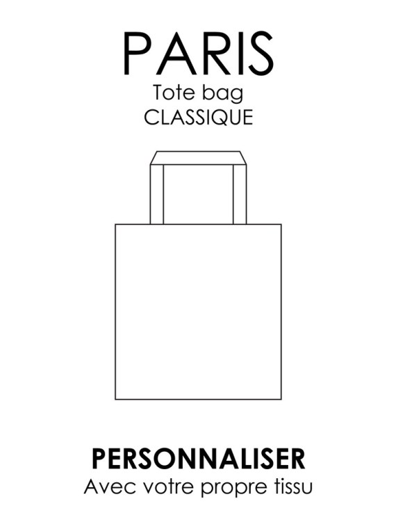 Paris – Tote bag personnalisé – Denise Carter