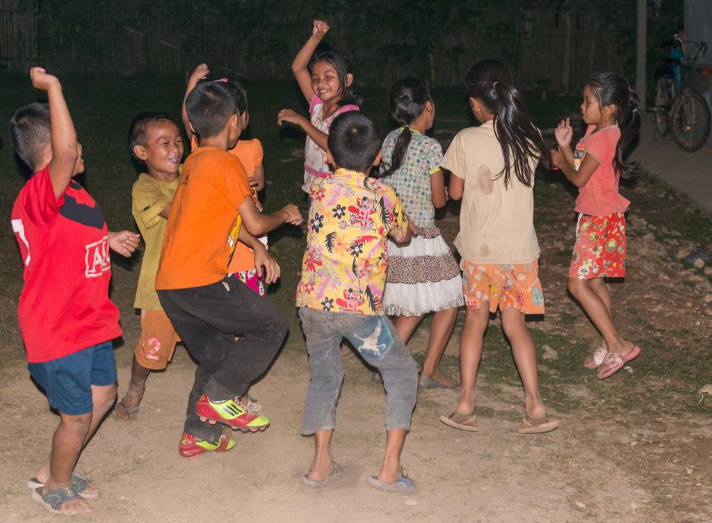 """The children really enjoyed dancing """"Gangnam Style"""""""