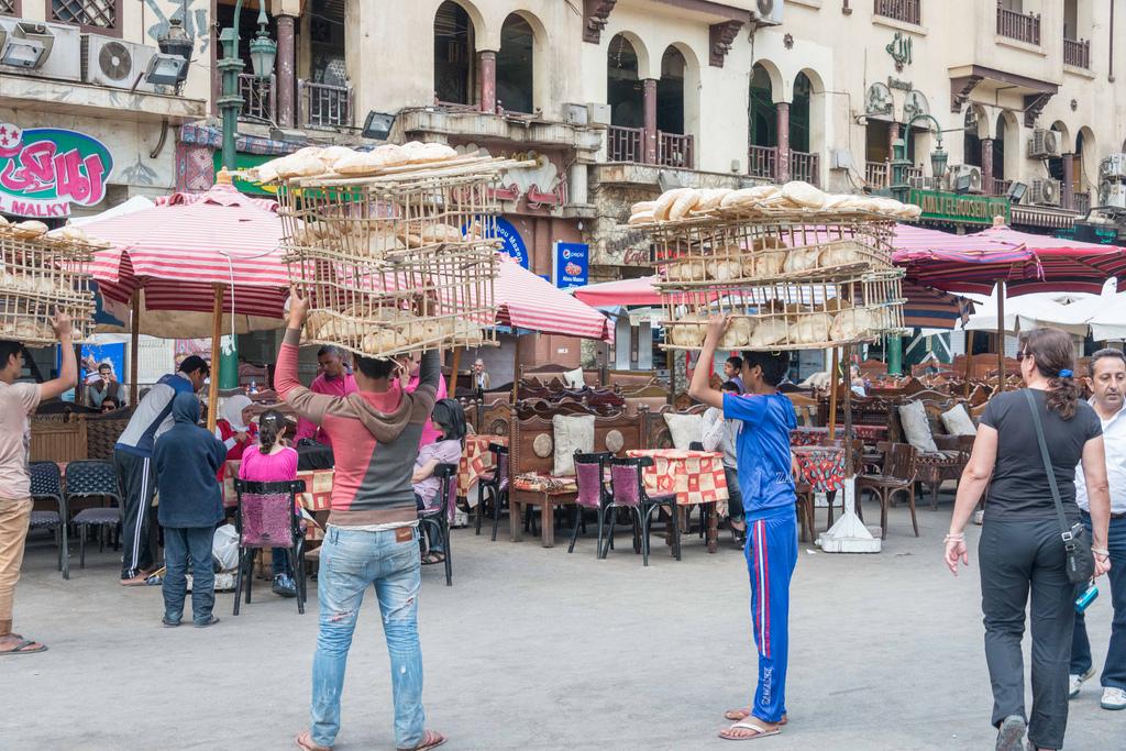 Entering Khan el-Khalili Bazaar.