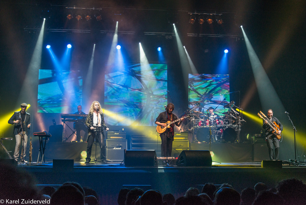 Steve Hackett's band at Teatro Sistina.