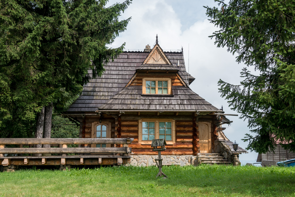 The architecture of Zakopane, in the Tatra mountains of Poland is distinctive and beautiful.