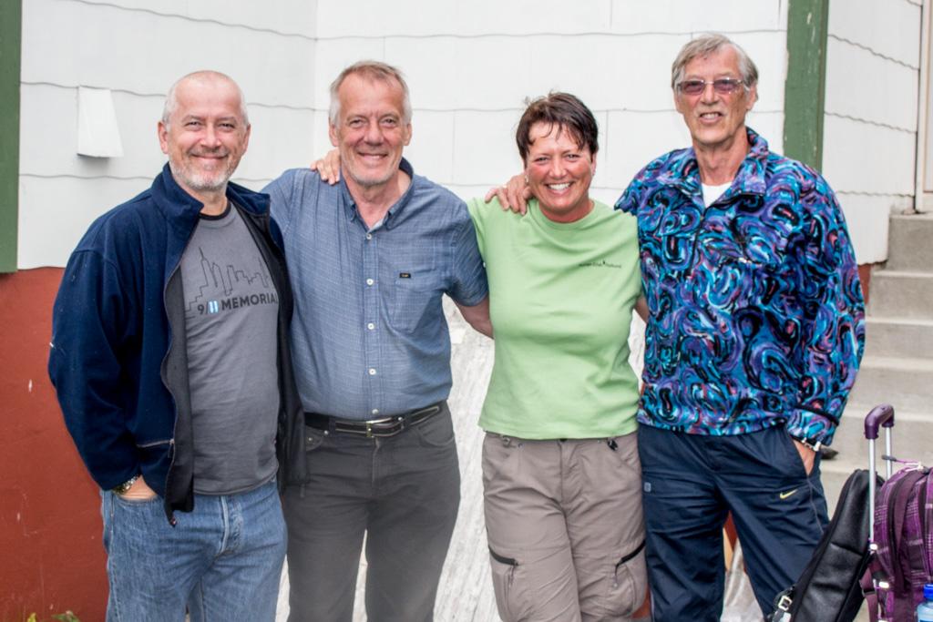 Eirik, Ölaf, Gry, and Konrad.