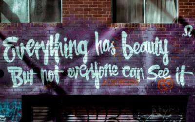 Beauty's Where You Find It! (not just where you painted and primed it)