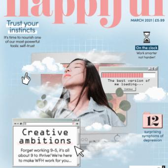 Happiful magazine, March 2021