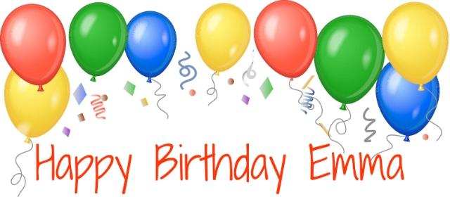 Emma's 6th Birthday - Denise Designed (640 x 280 Pixel)