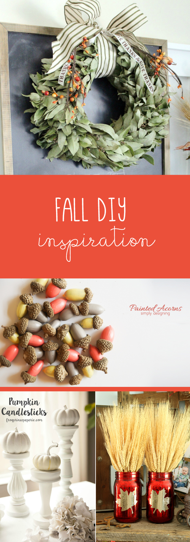Fall DIY Inspiration to get your creative juices flowing! TablerPartyOfTwo.com