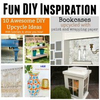 Fun DIY Inspiration at Sunday Features {223}