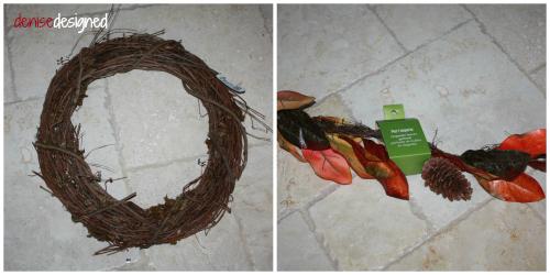 fall wall wreath