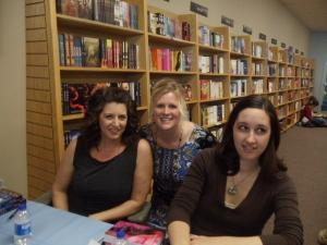 Denise, Heather (Denise's assistant), and Trisha