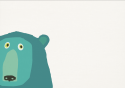 Blue Blobby Bear