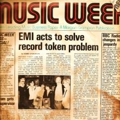 cover of Music Week UK Lucky Stars w/Dean Friedman
