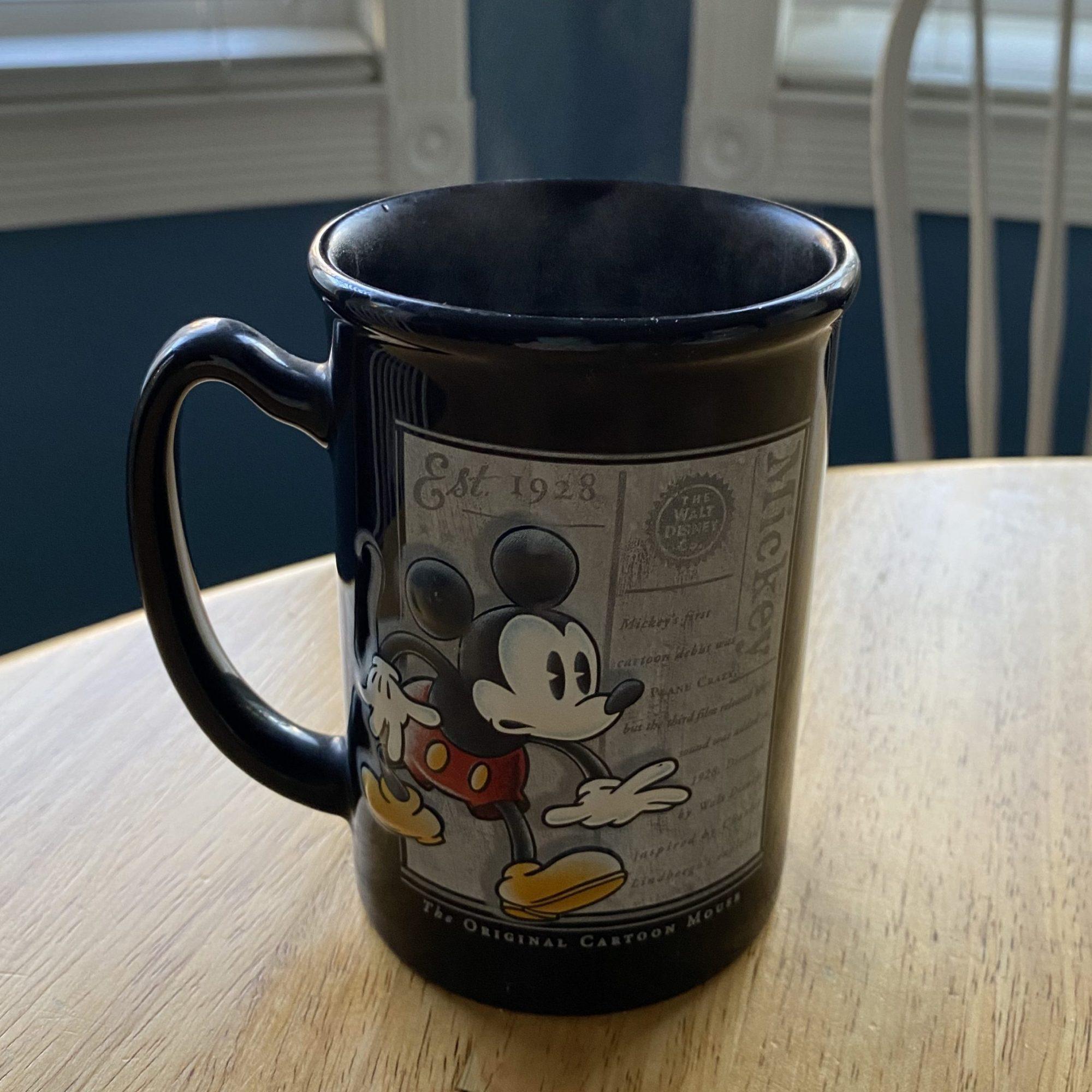 Mickey Mouse coffee mug #disneymugs denise m. colby post