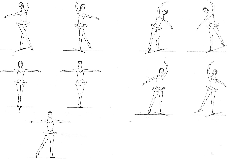 Ballet Body Positions Practice Sheet