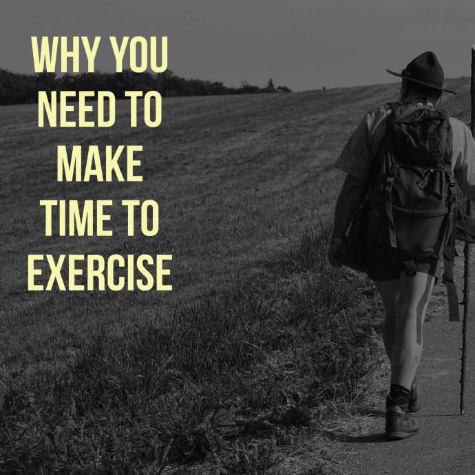 why you need to make time to exercise denisesanger.com