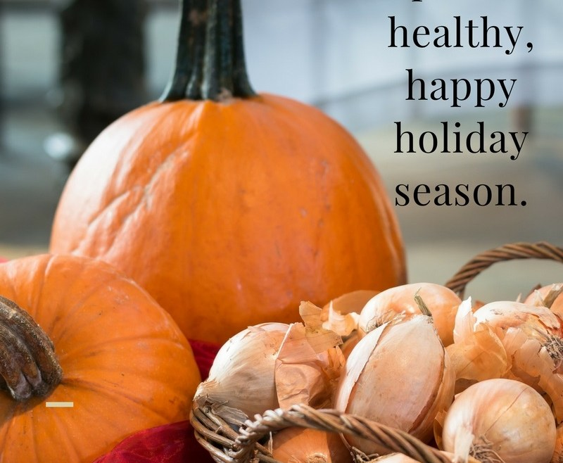 Healthy Living: Tips for a healthy, happy holiday season.