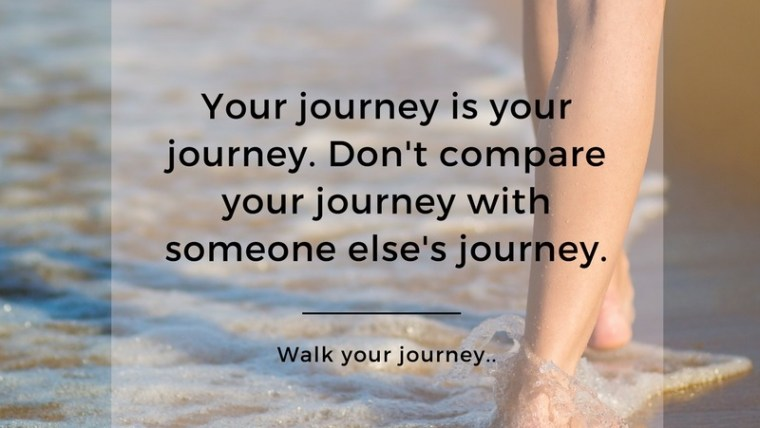 Healthy Living: Walk YOUR journey.