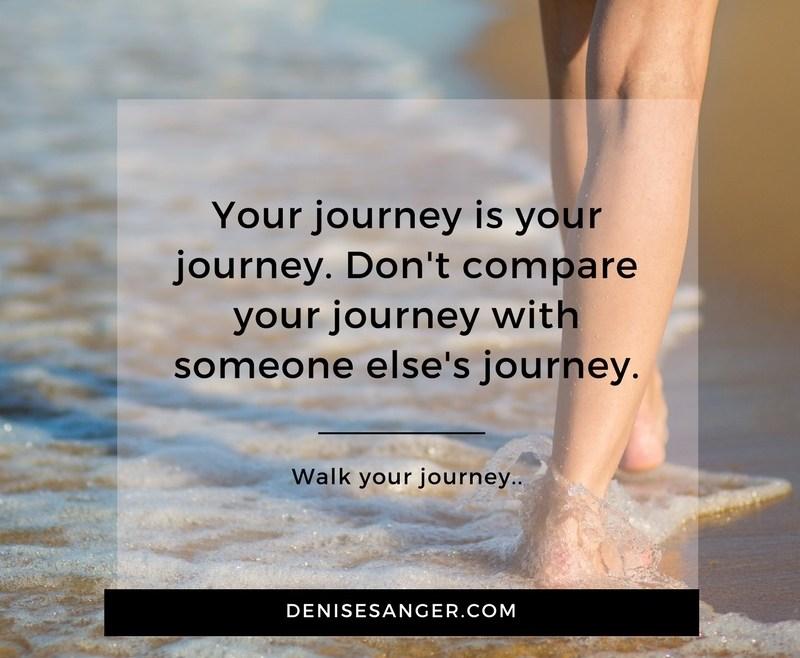 Healthy Living: Walk YOUR journey.