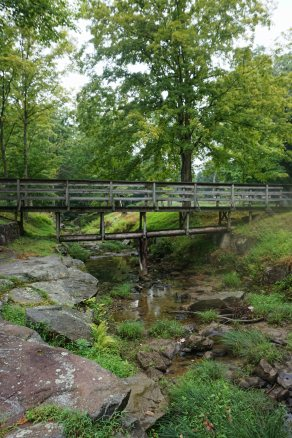Bridge at Valley Falls State Park