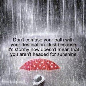 storm - sunshine