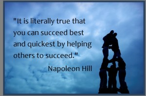 napoleon hill help others succeed