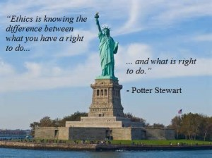 ethics picture Potter Stewart