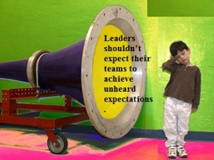 communicate expectations