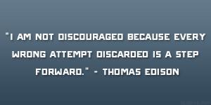 mistakes - Thomos edison