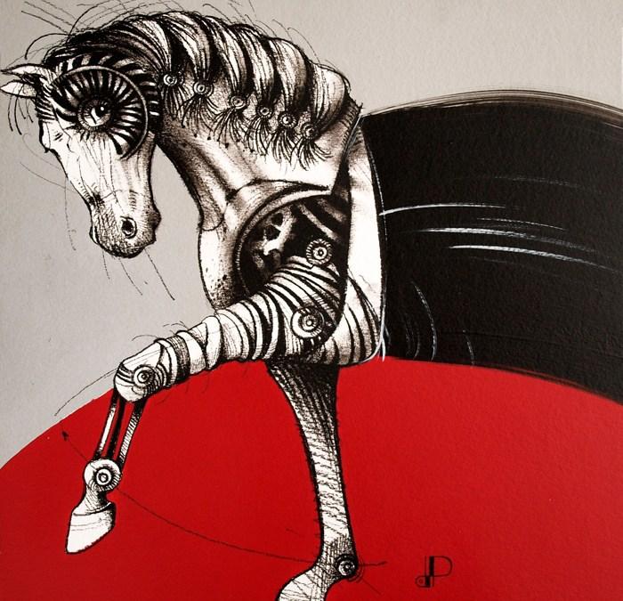Equus caballus 20