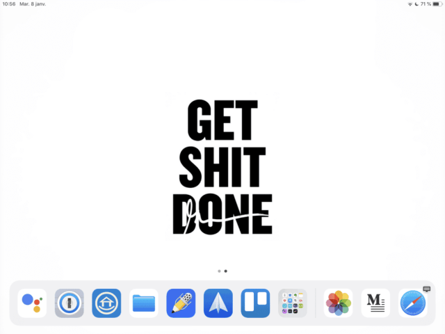 Organisation et minimalisme numérique : mon workflow iOS 12 5