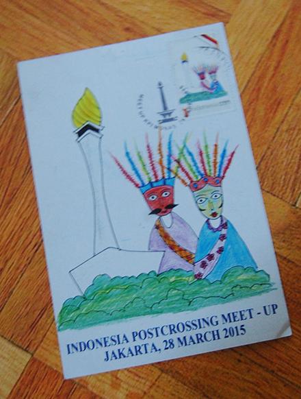 Postcard Meet Up – JAKARTA 2015