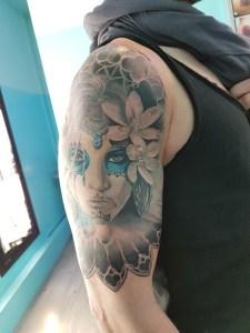 tatuaggio Catrina Chicano