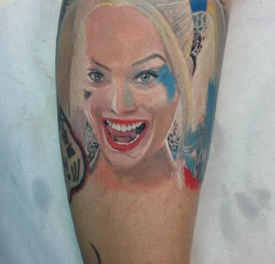 Tatuaggio Harley Quinn