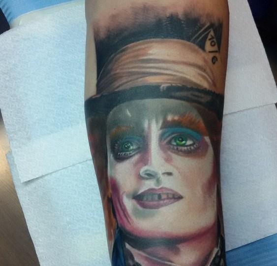 Tatuaggio Cappellaio matto