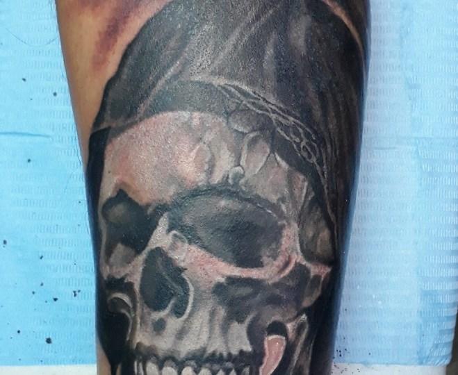 tatuaggio santa muerte