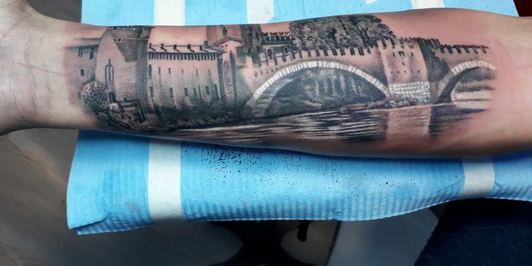 Denis Trevisani Tattoo Studio Verona - Castelvecchio