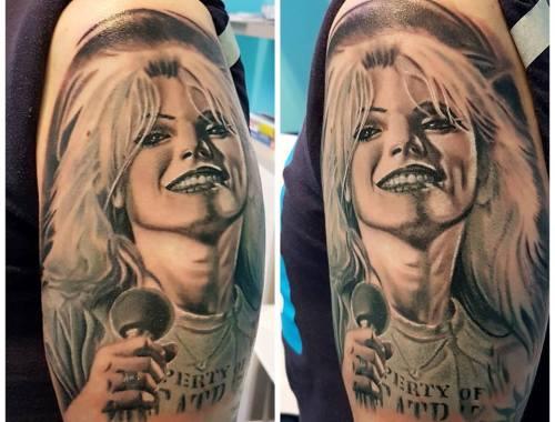 Tatuaggio Debbie Harry