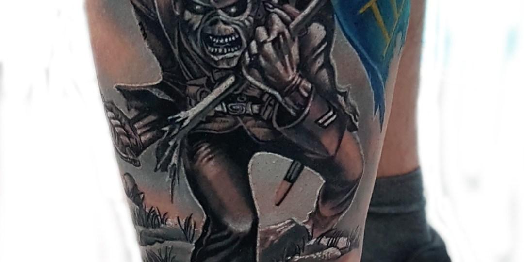 Denis Trevisani Tatuatore verona - Iron Maiden
