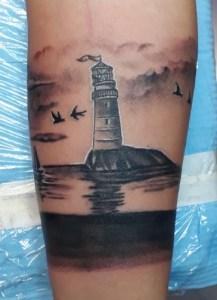 Tatuaggio faro