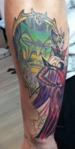 strega e specchio brame tattoo