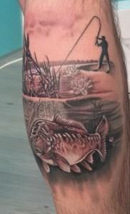 Tatuaggio pescatore 2