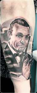 tatuaggio james bond