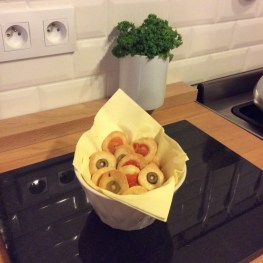 Olive and Tomato Biscuits from the Kernolou Kitchen