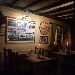 RAF Collage at the John Barleycorn pub Duxford