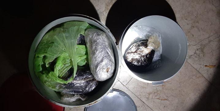 Denizli'de 12 kilo 800 gram afyon sakızı ele geçirildi