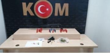 Denizli'de suç örgütü lideri operasyon sonucunda yakalandı