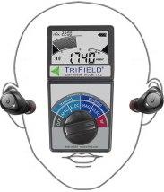 Bluetoothイヤホン測定イメージ