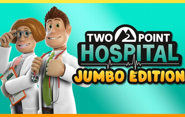 Banner di Two Point Hospital Jumbo Edition