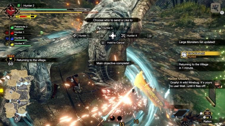 caccia monster hunter rise