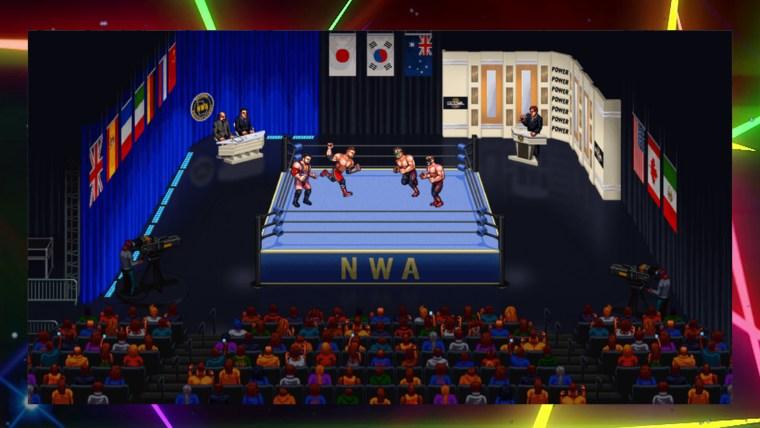 match retromania wrestling